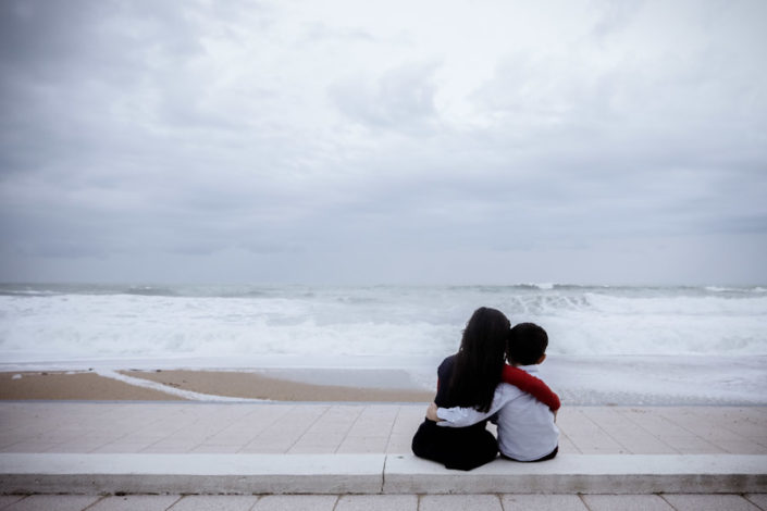 Jean Coubard-Photographe de Famille- A l'océan