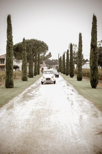Mariage de Marion & Nicolas- Jean Coubard-Photographe-Bordeaux-Photos de la voiture des mariés, Citroën 2CV