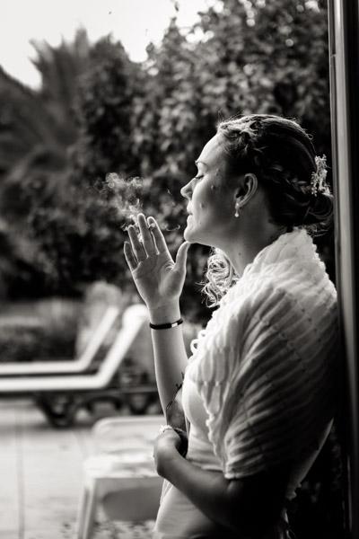 Jean Coubard-Photographe-Toulouse-la mariée se détend