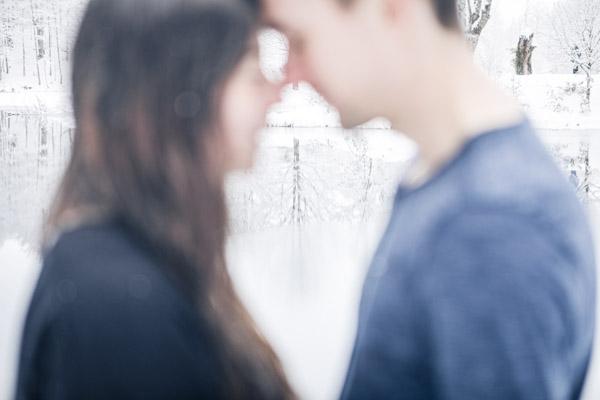 Séance Couple-Jean Coubard-Photographe-Tete à tête dans le froid