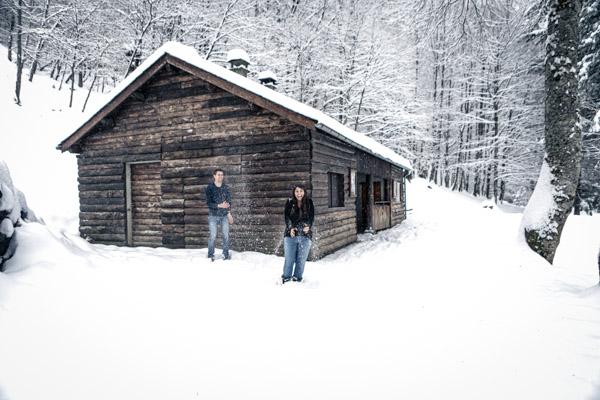 Séance Couple-Jean Coubard-Photographe- Pyrénées, séance engagement a la montagne