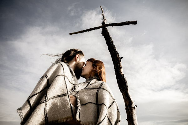 Séance Couple - Jean Coubard-Photographe- - catalunya-spain - Montserat, grands espaces espagnols