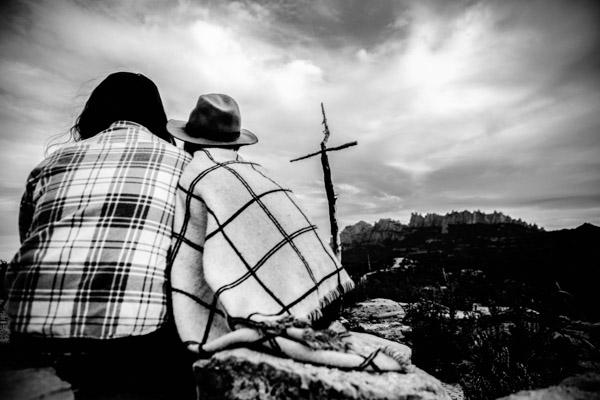 Séance Couple - Jean Coubard-Photographe- - catalunya-spain - Montserat, en amoureux