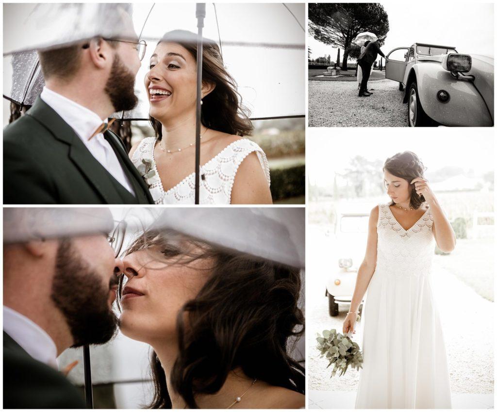 Jean Coubard-Photographe Mariage Toulouse-mariage en 2CV